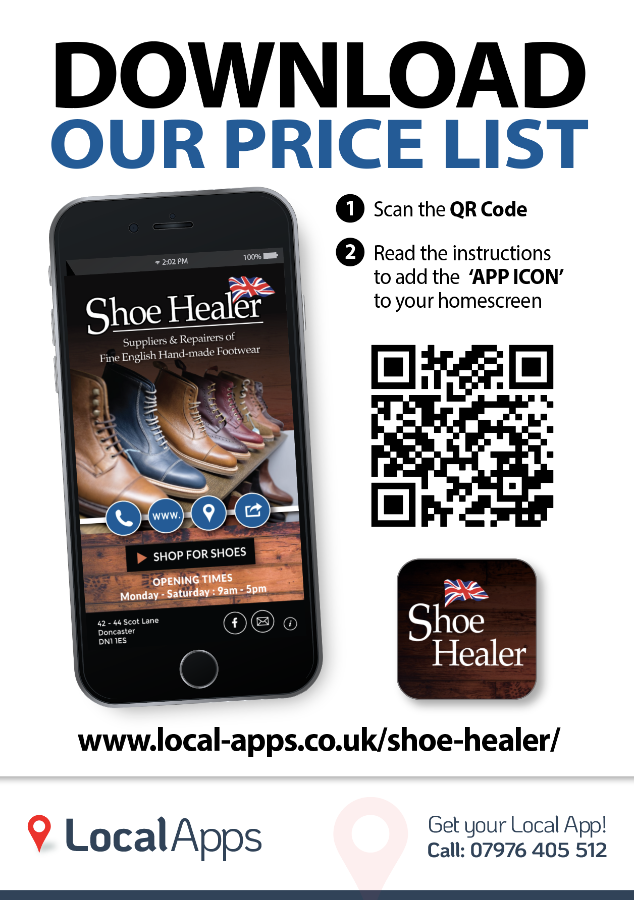 Local Sales Apps >> Shoe Healer Shoe Repairs And Sales 42 44 Scot Lane